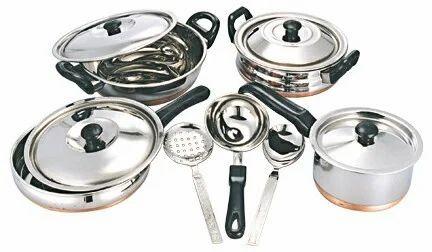 Kunal Stainless Steel Utensils, Rs 275 /kilogram Kunal Distributor | ID:  8180208588