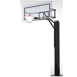 Height Adjustable Basketball Posts