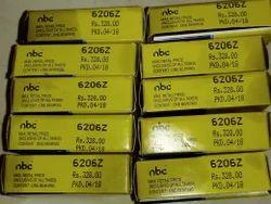 Nbc bearings 6206z