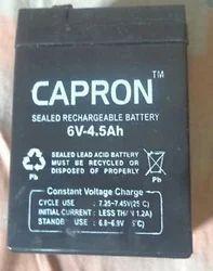 6 V 4.5Ah Capron Batteries