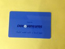 Plastic Visiting Card