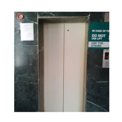 Stainless Steel Mild Steel Elevator, Max Persons/Capacity: 5-12 Person, for Malls