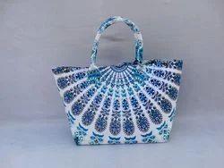 Mandala Handmade Tote Bag