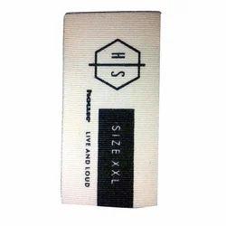 Printed Garments Label