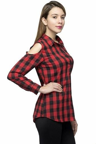 f22f134a63b7 Girls Garments Exporter india - Cold Shoulder Top Manufacturer from ...
