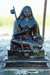 Divine Stone Statue Of Adi Sanakaracharya 54 Inch