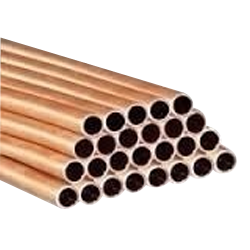 Hard Copper Pipe, For Industrial, Thickness: 0.4 Mm - 15 Mm