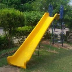 Single Fiber Straight Slide 10' Long With Step Ladder