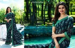 Vinay Fashion LLP Sheesha Starwalk 37 Georgette Print Sarees
