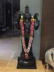 Sri Venkateswara Maha Prabhu 6 Ft Divine Black Stone