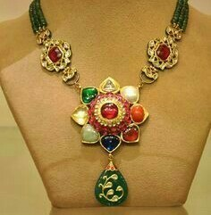 Antique Gold Mughal Necklace