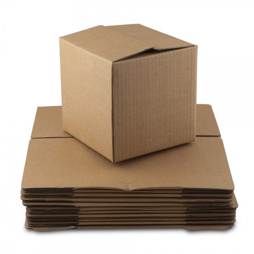 Paper Brown Corrugated Box, 5