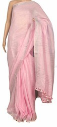 Silk Plain Saree with Blouse Piece