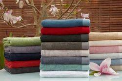 San Fibre Cotton Plain Towel, Size: Standard