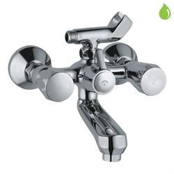 Stainless Steel Chrome Jaguar Wall Mixer Tap, Packaging Type: Single Piece