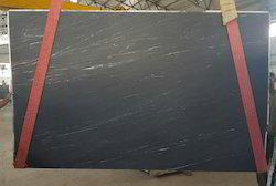 Forest Black Honed Marble