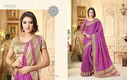 Anmol Weaves Silk Saree