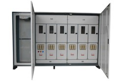 Three Phase Panel With Six Controls And With Motor Box