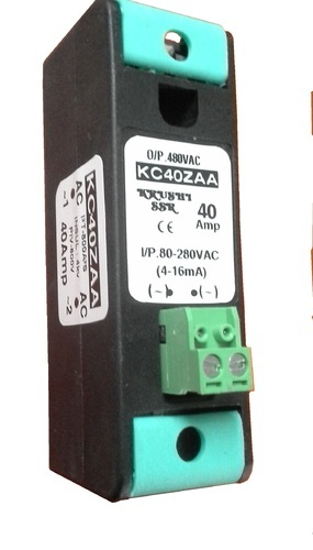 Ac To Ac 40amp Mcb Type Slim Solid State Relay Ac To Ac Single