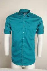 Sea Green Party Wear Shirt