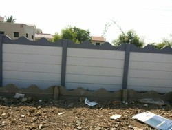 Residential Precast Compound Wall