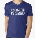 Customized V - Neck T-shirts