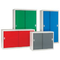 Multi Colour Steel Sliding Door Cabinet