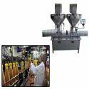 Twin Head Powder Filling Machine