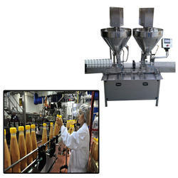 Auger Type Powder Filling Machine For Food Industry