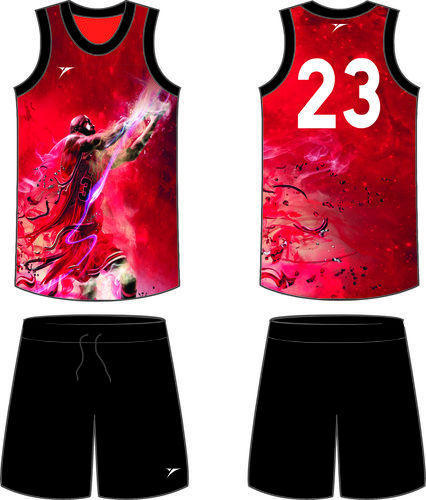 f24045a1430 Sublimated Basketball Uniform