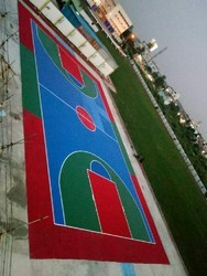 Synthetic  Court Flooring
