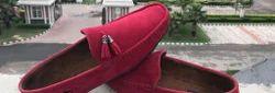 皮革男士普通鞋鞋,尺寸:7和8
