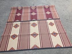 6x9 PP Cross Jacquard Designed Mats