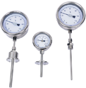 Bimetallic Dial Thermometer (Temperature Gauge)