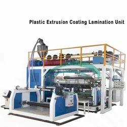 Plastic Extrusion Coating Lamination Unit