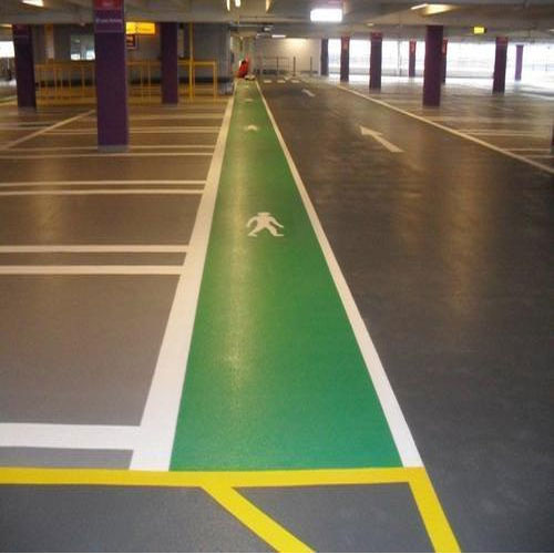 Car Park Epoxy Flooring एपॉक्सी फर्श एपॉक्सी फ्लोरिंग
