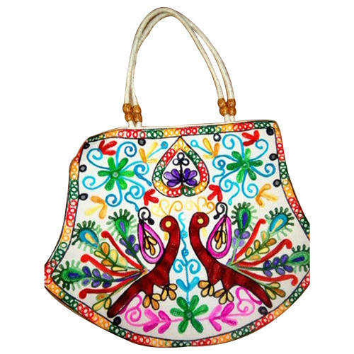 Las Embroidery Hand Bag