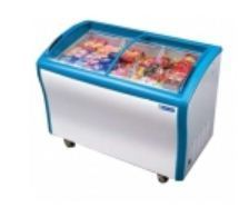 Blue Star Glass Top Chest Freezer