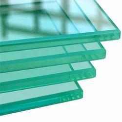 DK Transparent Toughened Glass, Size: 10-50 Square Feet, Shape: Flat