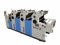 3 Color Non Woven Bag Printing Machine