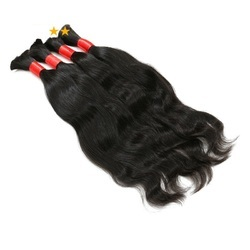 Cheap Remy Indian Virgin Bulk Hair