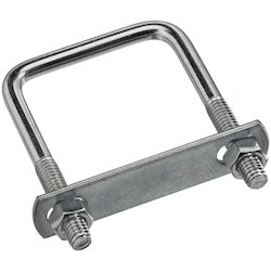 Square U Bolt, For Industrial, Size: 4mm - 20 Mm