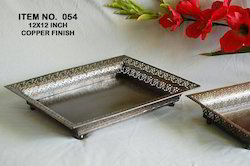 Metal Tray and Platter