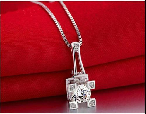 necklaces necklace moissanite colvard foreverone one round forever white fine jewelry gold station media colorless amazonaws pendant in charles shop