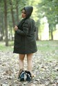 Stylish Ladies Hooded Coat