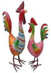 Iron Handmade Rooster