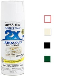 Rust-Oleum Painter's Touch 2x Acrylic Spray Paint Semi Gloss
