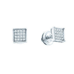 Sheetal Impex Cluster Diamond Earring