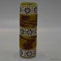 Mosaic Glass Decorative Flower Vase