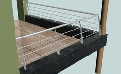 Stainless Steel Pata Railing